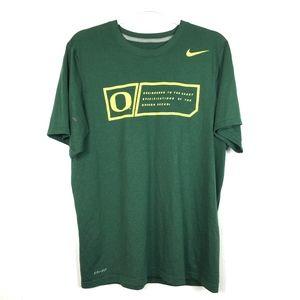 Nike Green Dri-Fit T-Shirt M